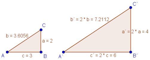 Ähnliche Dreiecke