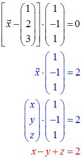 Koordinatengleichung Ebene Beispiel