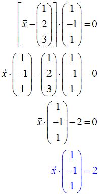 Normalengleichung Vereinfacht Beispiel