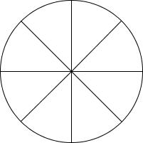 Kreis für Achtel