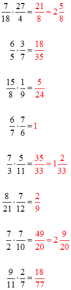 Multiplizieren Lösungen