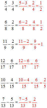 Subtrahieren Lösungen 2