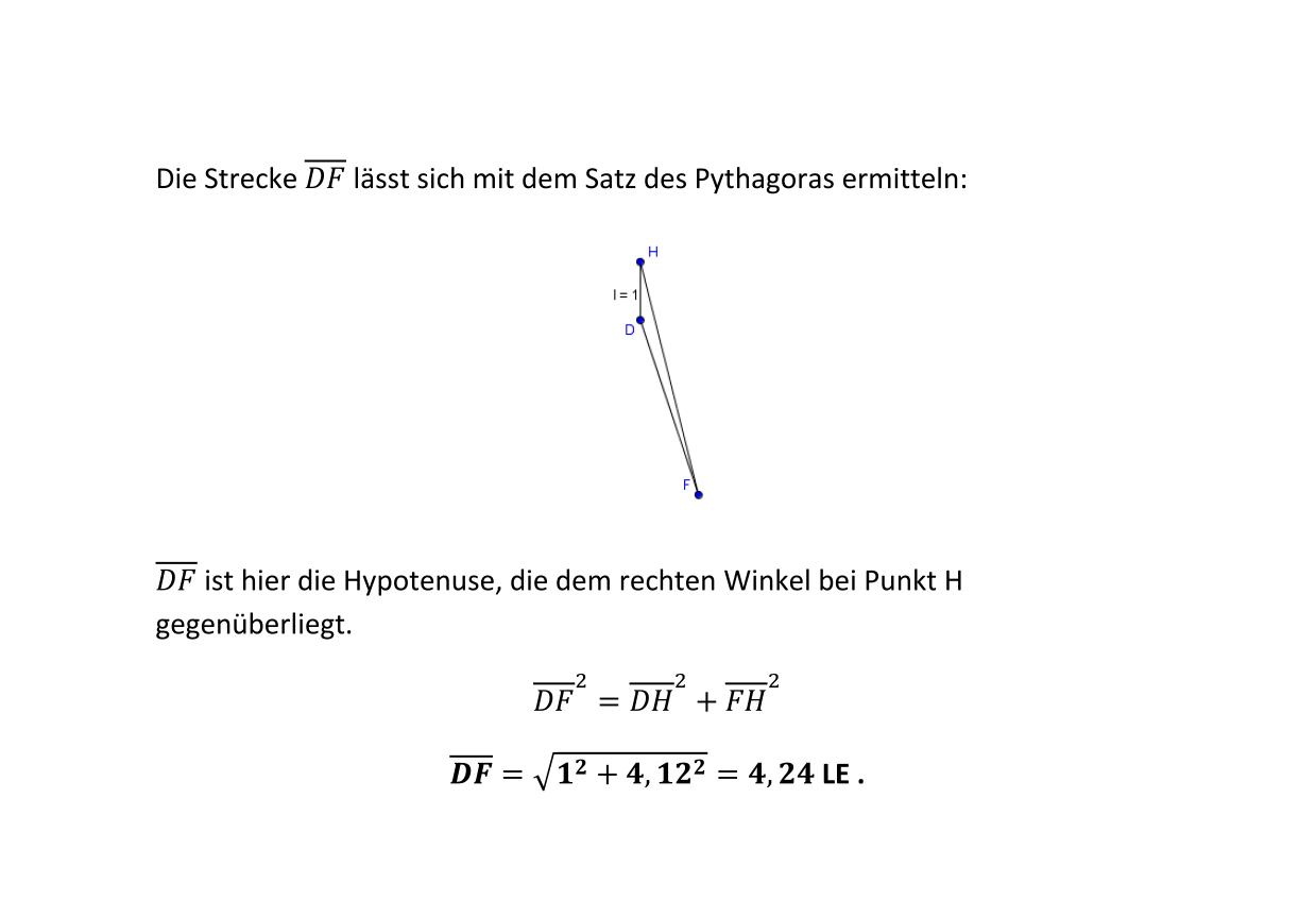 Berechnungen am Prisma 2